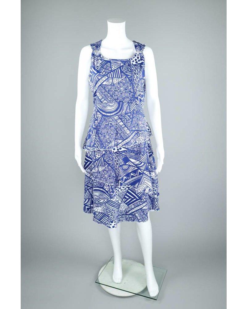 Alison Sheri Combo Print Dress