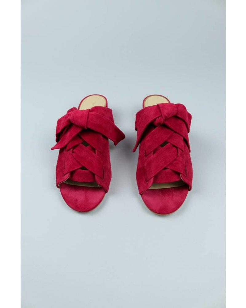 Etienne Aigner Bowed Mule Bermuda Shoe