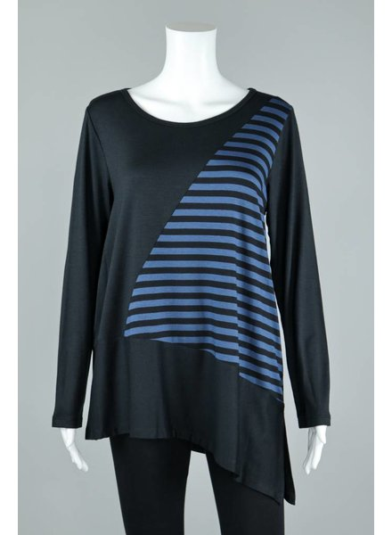 Comfy USA Stripe Clara Tunic