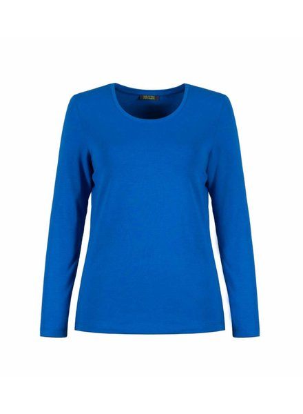 Dolcezza Royal Blue Long Sleeve Top