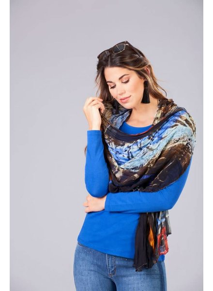 """Dolcezza """"Respond To Patterns"""" by L. Lein-Svencer Scarf"""