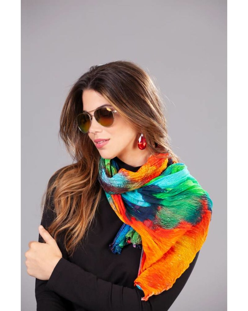 """Dolcezza """"Color Blast"""" by M. Duncanson Scarf"""