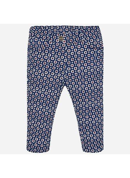 Mayoral Printed Long Plush Pants