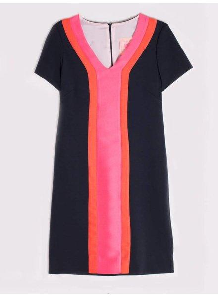 Vilagallo Nara Pink Tussord Dress