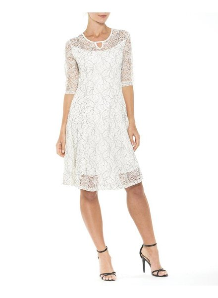 Alison Sheri Lace Elbow Sleeve Dress