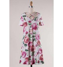 Secret Garden T-Shirt Dress