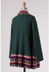 Cable Knit Sweater Cardigan