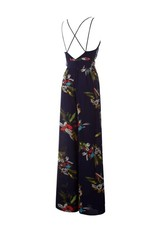 Floral Spaghetti Strap Jumpsuit