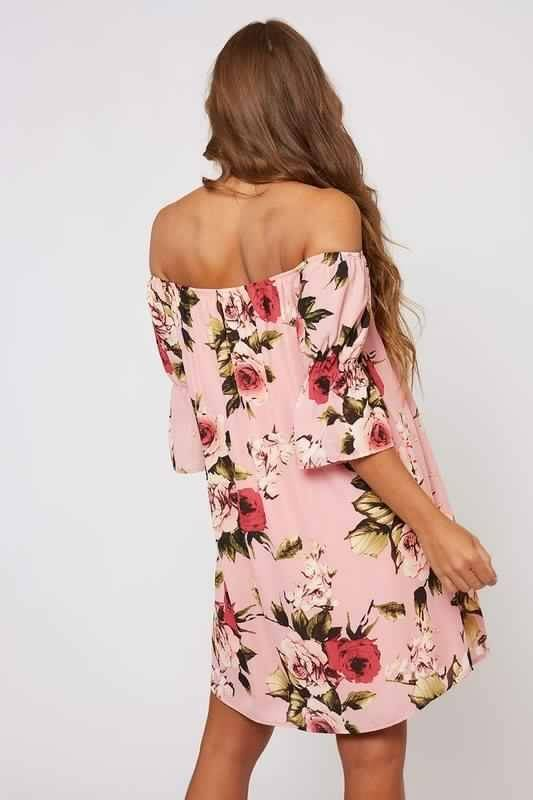 OTS Floral Dress