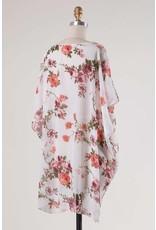 Sheer Floral Cardigan