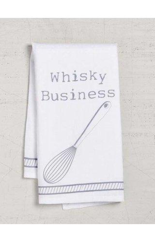 Whisky Business Dishtowel