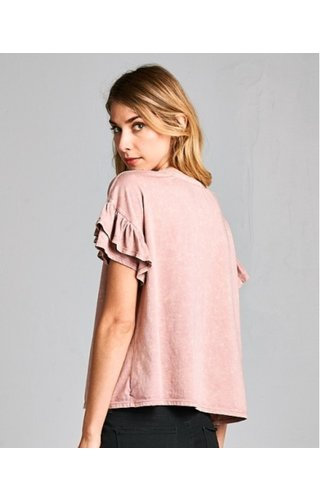 Ruffle Party Tee