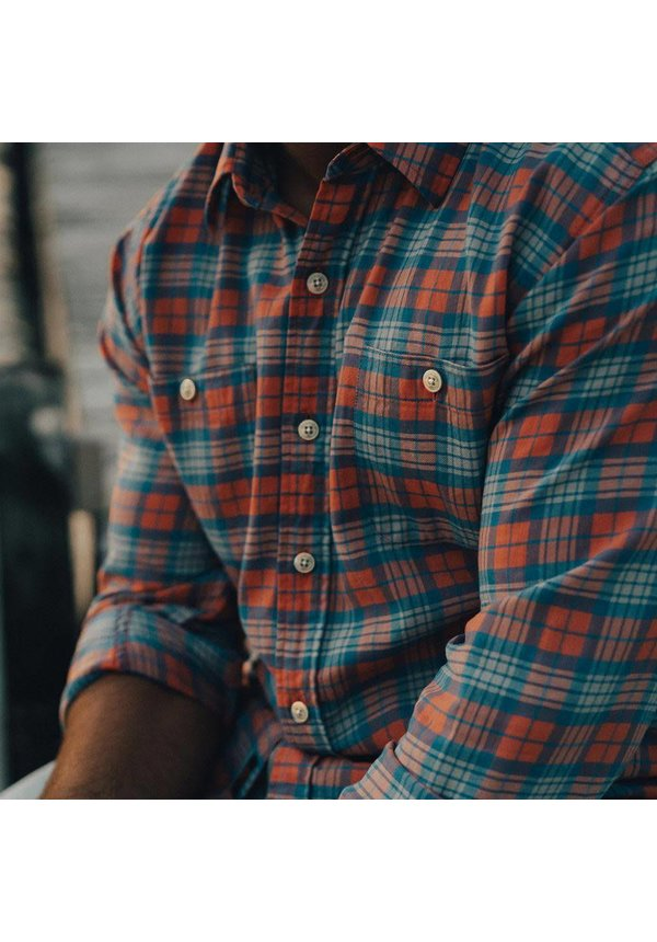 WHL Twill Button Up