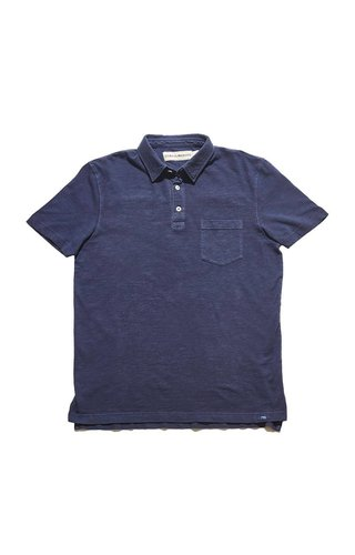 Vintage Slub Short Sleeve Pocket Polo