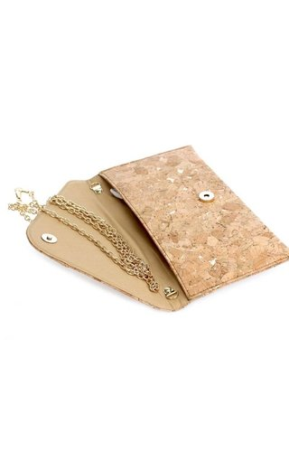 Cork Flap-Over Clutch