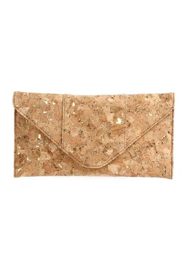 Cork Flap-Over Clutch