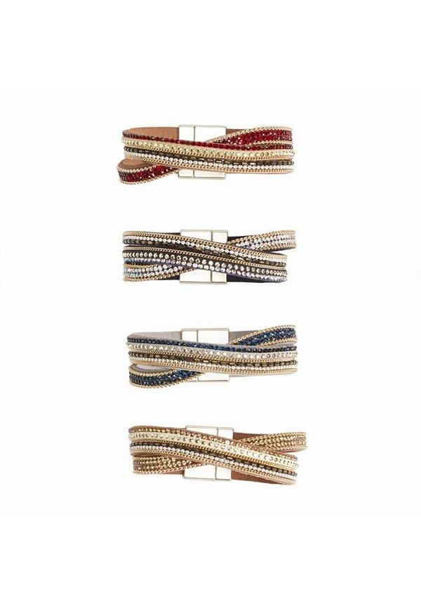 Embellished Magnetic Bracelet