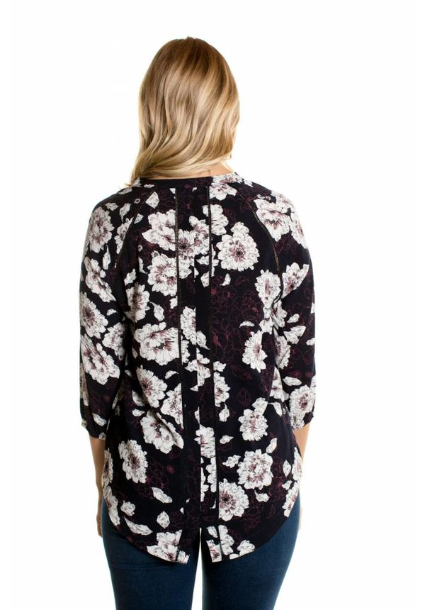 Floral Outline Blouse