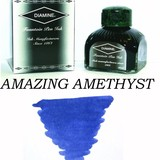 DIAMINE DIAMINE STANDARD BOTTLED INK 80 ML - AMAZING AMETHYST