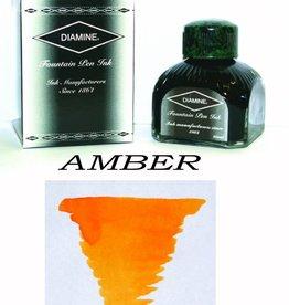 DIAMINE DIAMINE AMBER - 80ML BOTTLED INK