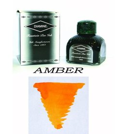 DIAMINE DIAMINE AMBER - 80ML BOTTLED INK