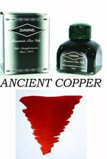 DIAMINE DIAMINE BOTTLED INK 80ML ANCIENT COPPER