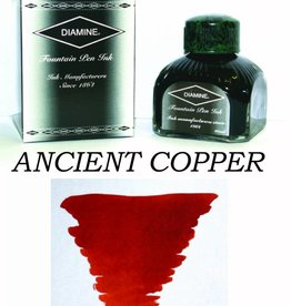 DIAMINE DIAMINE BOTTLED INK 80ML ANCIENT COPPER