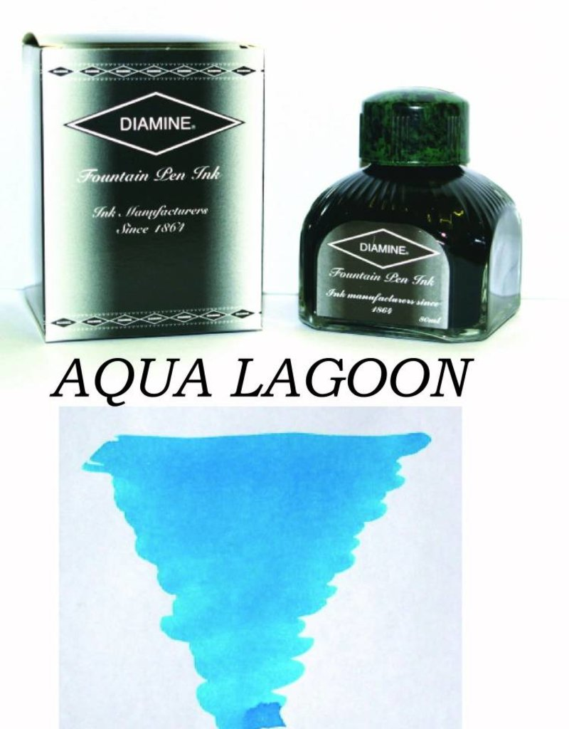 DIAMINE DIAMINE BOTTLED INK 80ML AQUA LAGOON