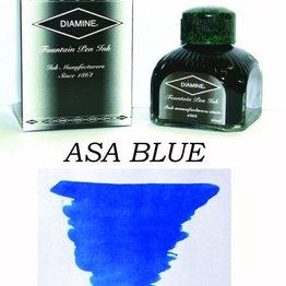 DIAMINE DIAMINE ASA BLUE - 80ML BOTTLED INK