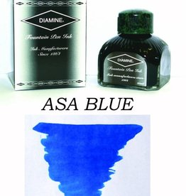 DIAMINE DIAMINE ASA BLUE - 80ML BOTTLED INK