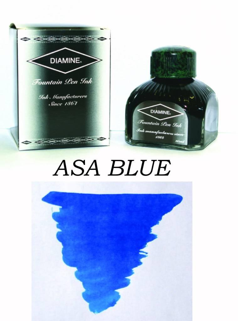 DIAMINE DIAMINE BOTTLED INK 80ML ASA BLUE