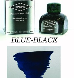 DIAMINE DIAMINE BLUE-BLACK - 80ML BOTTLED INK