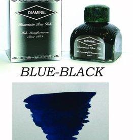 DIAMINE DIAMINE STANDARD BOTTLED INK 80 ML - BLUE BLACK