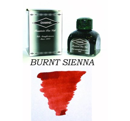 DIAMINE DIAMINE BURNT SIENNA - 80ML BOTTLED INK