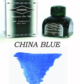 DIAMINE DIAMINE CHINA BLUE - 80ML BOTTLED INK