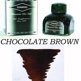 DIAMINE Diamine Chocolate Brown - 80ml Bottled Ink