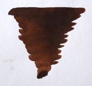 DIAMINE DIAMINE BOTTLED INK 80ML CHOCOLATE BROWN