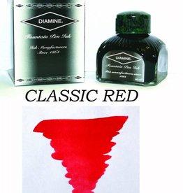 DIAMINE DIAMINE CLASSIC RED - 80ML BOTTLED INK