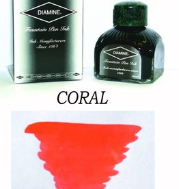 DIAMINE DIAMINE CORAL - 80ML BOTTLED INK
