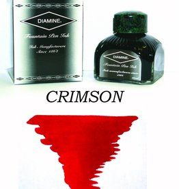 DIAMINE DIAMINE CRIMSON - 80ML BOTTLED INK
