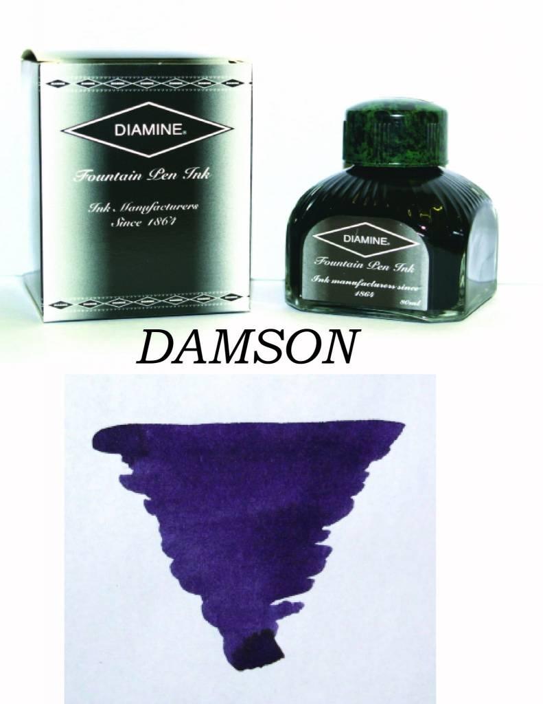 DIAMINE DIAMINE BOTTLED INK 80ML DAMSON