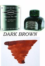 DIAMINE DIAMINE BOTTLED INK 80ML DARK BROWN