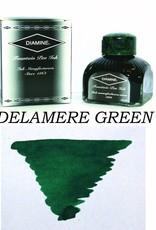 DIAMINE DIAMINE DELAMERE GREEN - 80ML BOTTLED INK