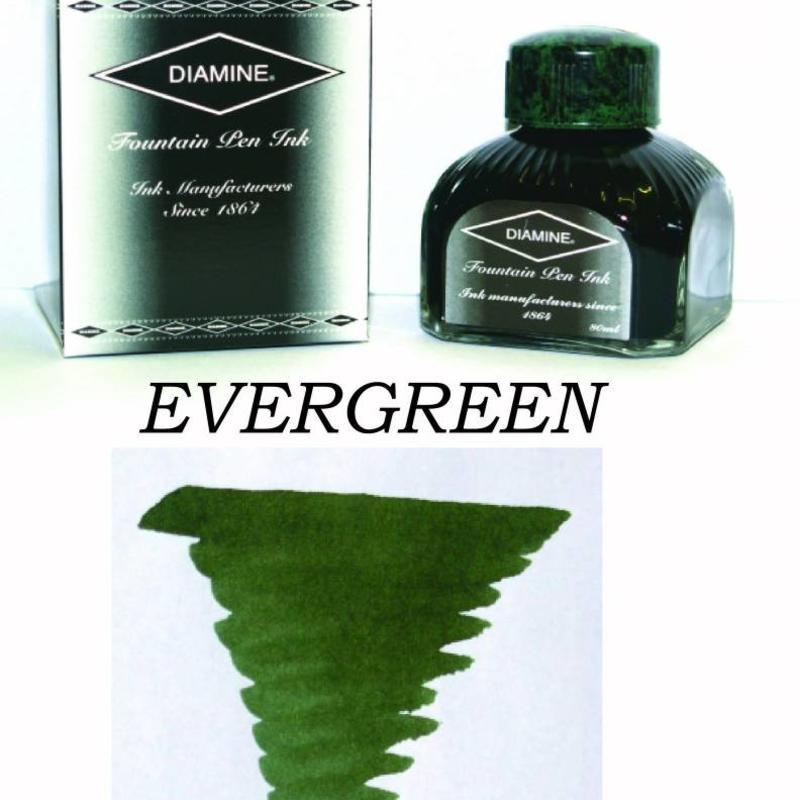 Diamine Diamine Evergreen - 80ml Bottled Ink