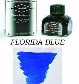 DIAMINE DIAMINE BOTTLED INK 80ML FLORIDA BLUE