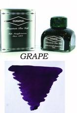DIAMINE DIAMINE BOTTLED INK 80ML GRAPE