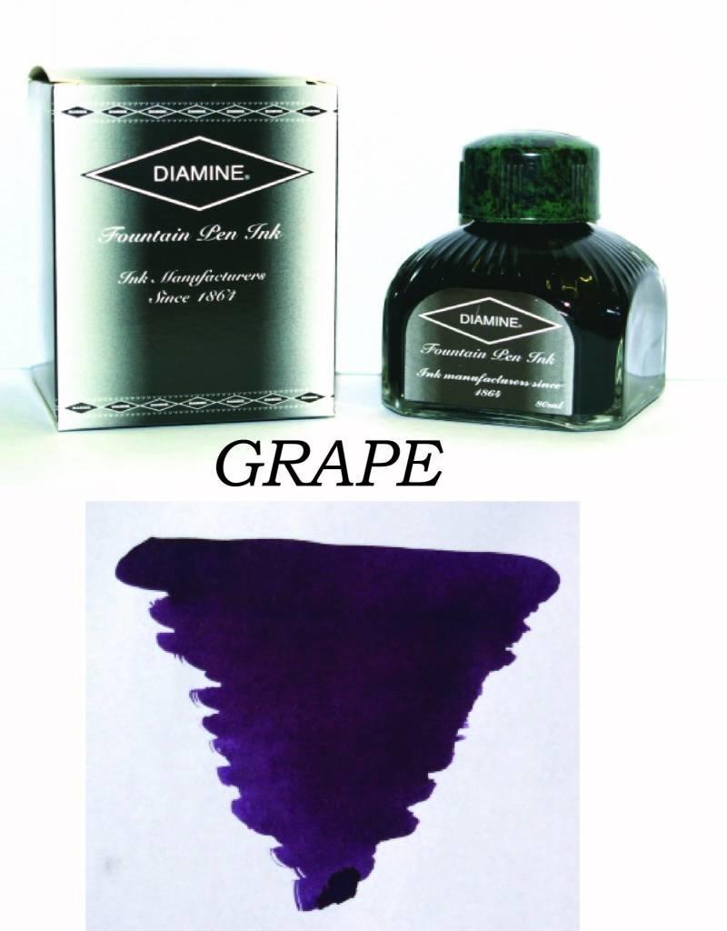 DIAMINE DIAMINE GRAPE - 80ML BOTTLED INK