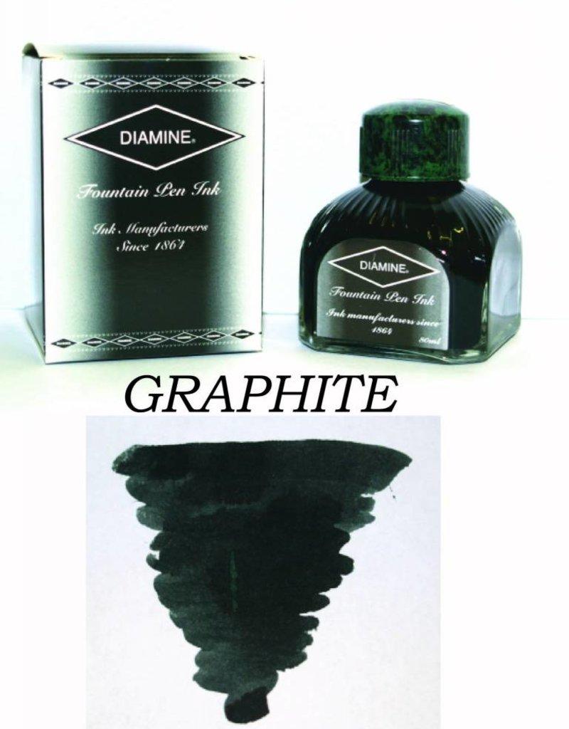 DIAMINE DIAMINE GRAPHITE - 80ML BOTTLED INK