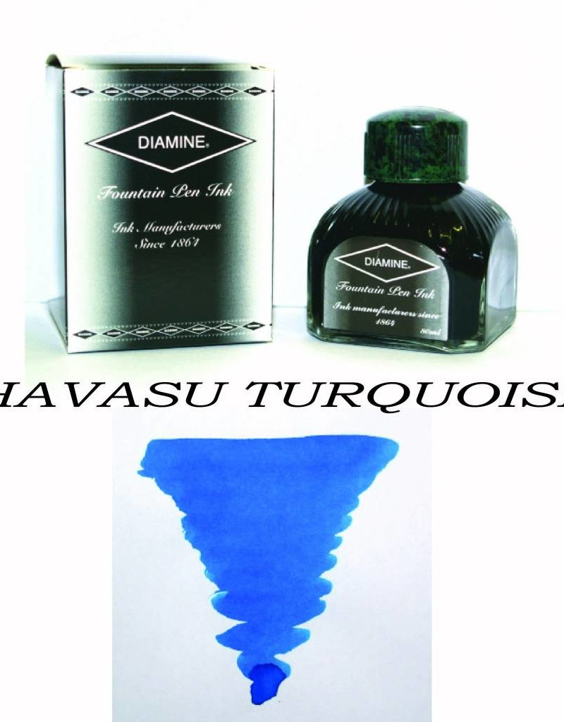 DIAMINE DIAMINE HAVASU TURQUOISE - 80ML BOTTLED INK