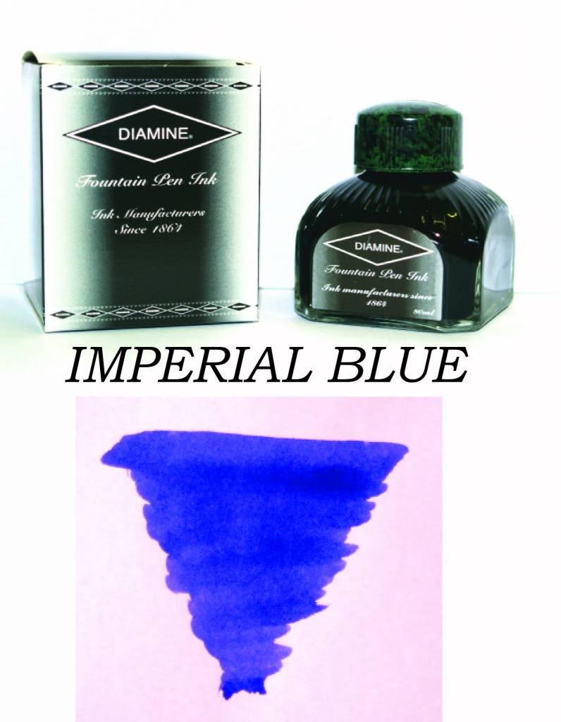 DIAMINE DIAMINE BOTTLED INK 80ML IMPERIAL BLUE